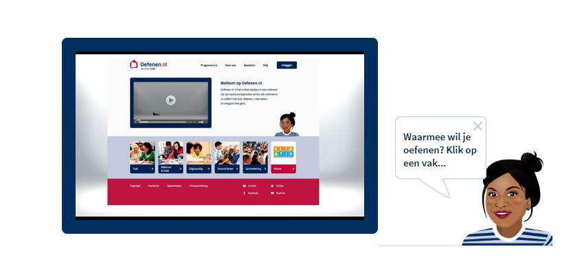 Online werkprogramma's ook beschikbaar via Oefenen.nl