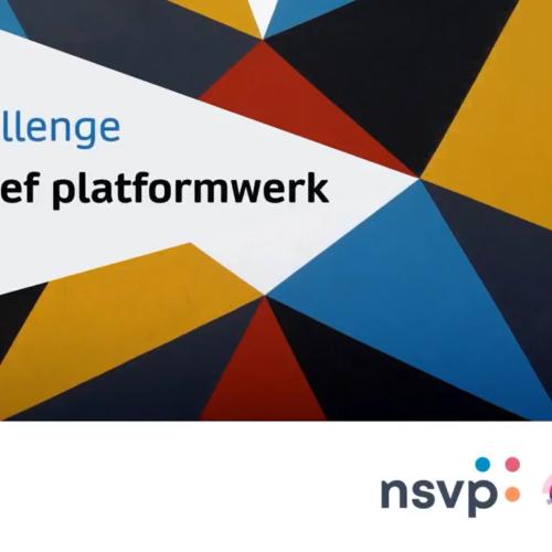 Challenge 2021 Inclusief platformwerk