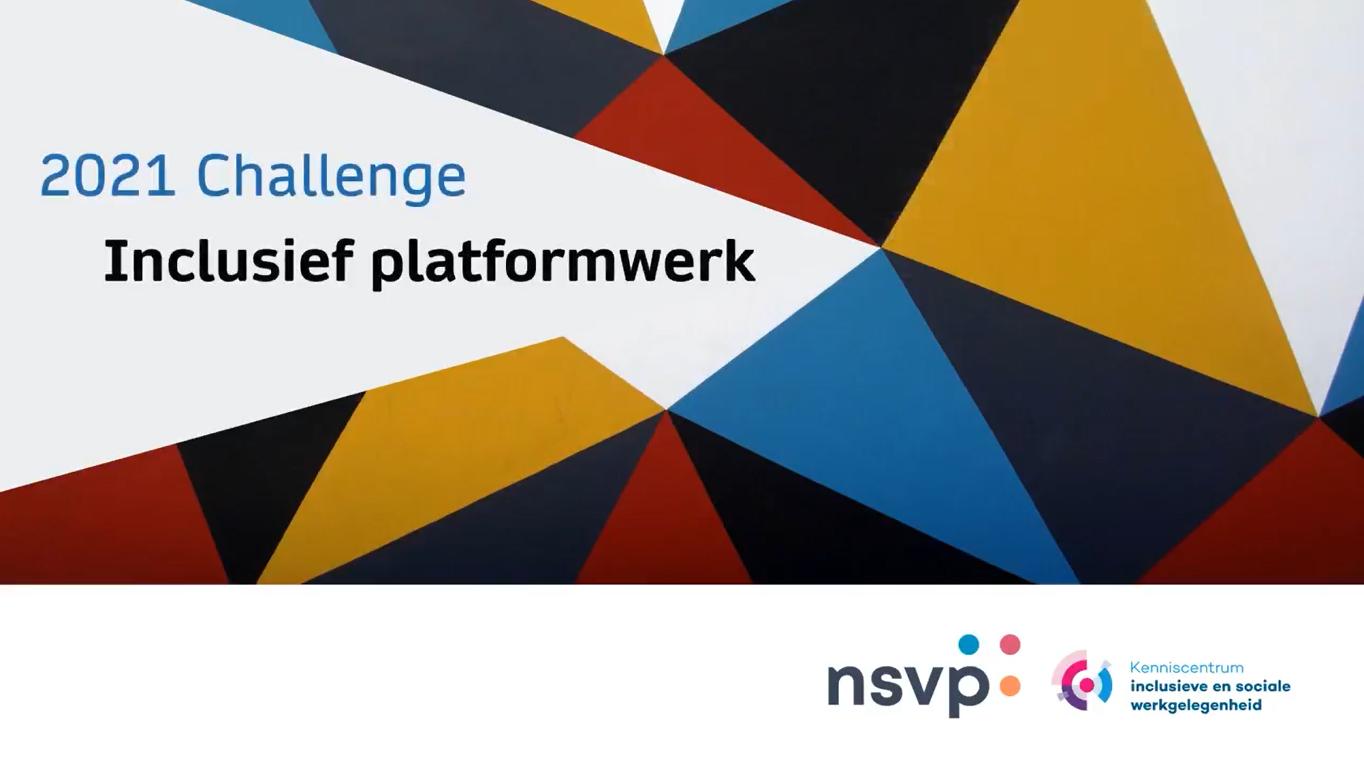 Winnaars challenge Inclusief Platformwerk bekend
